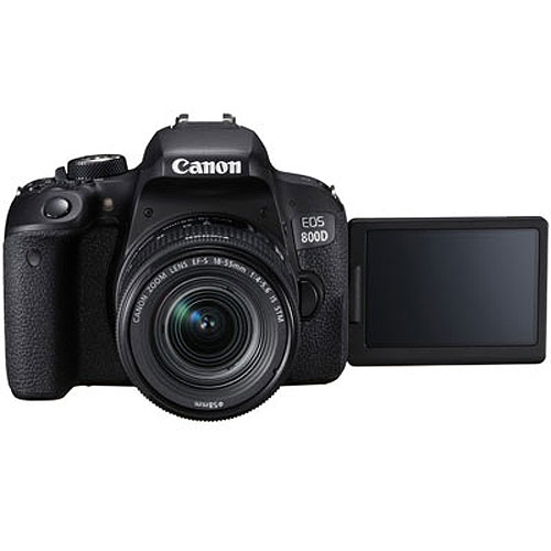 Canon EOS 800D 18-55 IS STM + 55-250 IS STM Double Lens Kit